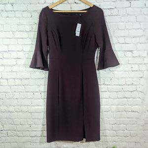 WHBM Fitted Bell Sleeve Shift Dress